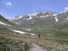 Susaunna Tal, Graubünden, Schweiz