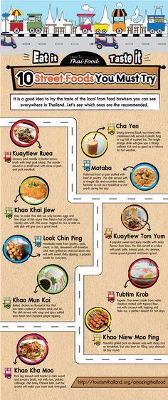 Thai streetfood must try
