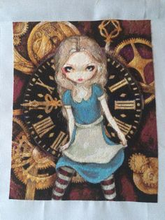 Alice in clockwork by heaven and earth designs. Started May 2015 finished August 2015.