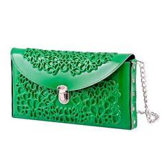 MeDusa Hard Clutch- Green #handbag #fashion #green