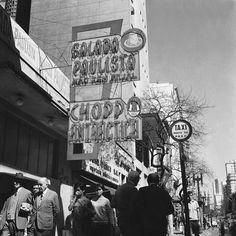 Salada Paulista, av. Ipiranga ao lado do cine Ipiranga, 1965. Foto: Domingos de Miranda Ribeiro