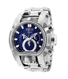 811b70ac84e Invicta Men s Reserve Steel Bracelet  amp  Case Quartz Blue Dial Watch  25207  Invicta