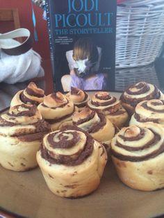 Minka's rolls from The Storyteller- Jodi Picoult