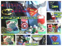Todo lo que necesitas para celebrar una fiesta de superhéroes
