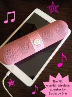 Beats by Dre Pill Wireless Speaker Like, Repin, Comment, Enjoy