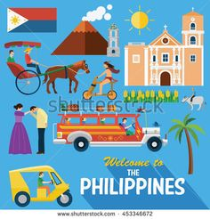 Find Illustration Philippiness Landmarks Icons stock images in HD and millions of other royalty-free stock photos, illustrations and vectors in the Shutterstock collection. Thousands of new, high-quality pictures added every day. Filipino Art, Filipino Culture, Philippines Culture, Filipiniana, Illustration Art, Illustrations, Royalty Free Stock Photos, Sketches, Kids Rugs