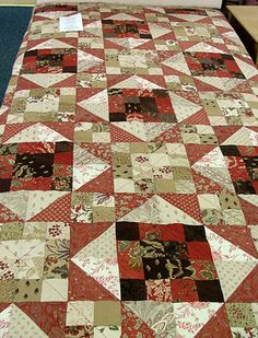 Sandy Quilts: Jelly Roll Quilt