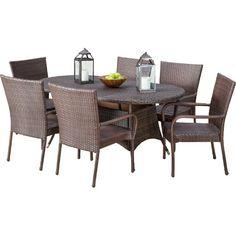 Home Loft Concepts Blakely 7 Piece Dining Set & Reviews   Wayfair