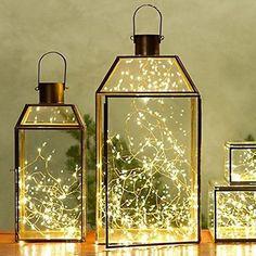 Mini-starlights - 100 LEDs / Lumières miniatures - 100 DELs