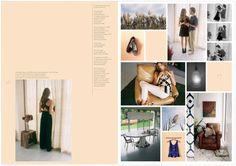 Photo Book Layout Inspiration – The Catalog Page Layout Design, Magazine Layout Design, Book Layout, Photo Book Printing, Wedding Album Layout, Catalogue Layout, Book Design Inspiration, Wedding Photo Books, Image Layout