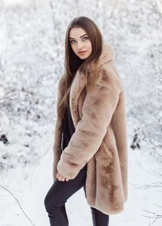 Only High Quality fake fur coats and jackets here. Fake Fur, Fur Coats, My Style, Womens Fashion, Jackets, Clothes, Beautiful, Collection, Woman