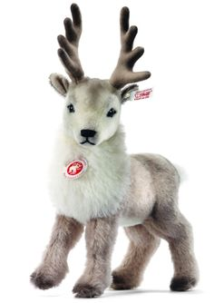 You have to pre-order Renny Reindeer as of 7-17-2012 but honestly, some of these Steiff creations aren't just stuffed animals, they're almost like a work of art!