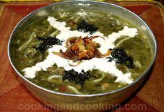 Ashe Reshteh (Persian Noodle Soup)