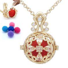 Essential Oil Diffuser, Essential Oils, Diffuser Necklace, Perfume, Pendant Necklace, Amazon, Jewelry, Fashion, Moda