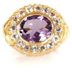 Jade Jagger Amethyst & aquamarine ring ($661) ❤ liked on Polyvore Aquamarine Rings, Amethyst, Jade Jagger, Sapphire, Shoe Bag, Accessories, Jewelry, Hot, Polyvore