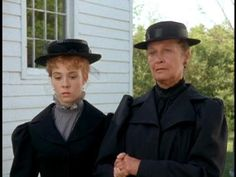 Anne and Marilla at Matthew's funeral.
