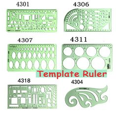 Diy Craft Supply Spirograph Multifunctional Geometric Ruler Drafting Tools Stationery Students Office Sewing Drawing Supplies Delicacies Loved By All Apparel Sewing & Fabric