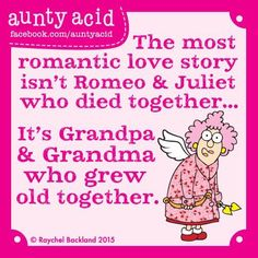 The most romantic love story isn't Romeo & Julliet...
