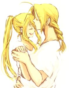 <3 Ed & Winry are so adorable.