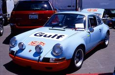 Porsche 911 in Gulf Colors by Dokushoka, via Flickr
