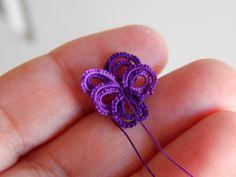 Carollyn's Tatting Blog: February's Frivolite flower!