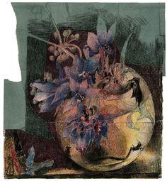 Horst Janssen, Emo Scene Hair, Rembrandt, Graphic Art, Moose Art, Artsy, Abstract, Drawings, Flowers
