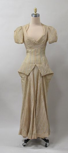Evening dress ca.1935 - American - silk by Charles James Metropolitan Museum of Art