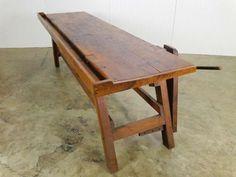 Antique American Walnut Work Table