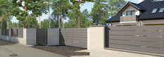 ogrodzenie chroniące prywatność Home Additions, Outdoor Furniture, Outdoor Decor, Outdoor Storage, Fence, Garage Doors, Home Decor, Arquitetura, Decoration Home