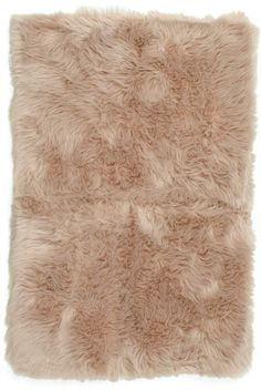 2x4 Faux Fur Scatter Rug