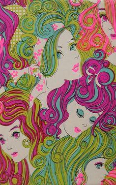 pinterest.com/fra411 #60's Vintage '60's Art...