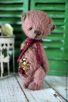 Мишки Тедди ручной работы. Ярмарка Мастеров - ручная работа Жан Мишель Резерв. Handmade.
