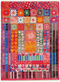 Marianne Richter, blooming rya 1969.