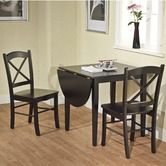 Found it at Wayfair - Tiffany 3 Pieces Dining Set