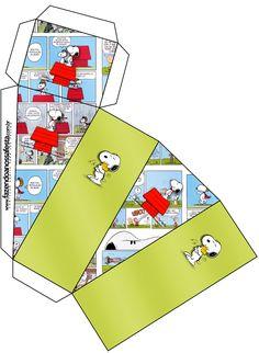 Caixa Fatia Snoopy:                                                                                                                                                                                 Mais