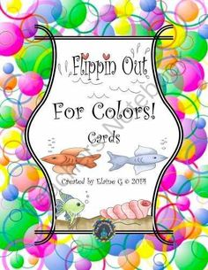 Flippin Out for Color Label Cards from The-Schoolhouse on TeachersNotebook.com -  (4 pages)  - A set of cards to identify colors with a variety of uses that are perfect for your beach or ocean theme....or any time!!
