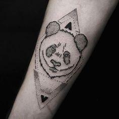 Panda Tattoo Designs 023
