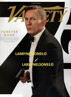 Variety Magazine, Daniel Craig James Bond, Magazines, Hollywood, Journals