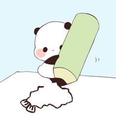 Cute Panda Baby, Panda Love, Panda Bear, Panda Funny, Cartoon Panda, Panda Wallpapers, Cute Wallpapers, Panda Party, Kawaii Cute
