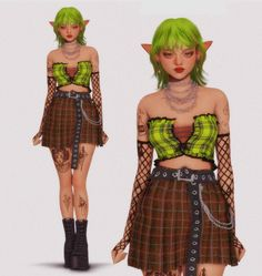 Sims 4 Mods Clothes, Sims Mods, Sims 4 Expansions, The Sims 4 Skin, Final Fantasy Artwork, Sims Cc, Challenges, Punk, Wonder Woman