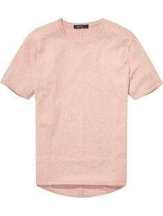 Cashmere Mix T-Shirt | Pullovers | Men Clothing at Scotch & Soda