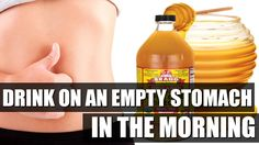 What Happens When you Drink Apple Cider Vinegar And Honey Water On An Em...