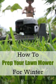 Learn how to prep your lawn mower for winter and enter to win a $100 American Express Gift Card courtesy of MetLife #sponsored #MasteringAuto  http://cheapisthenewclassy.com/2014/10/lawn-mower-prep-for-winter.html
