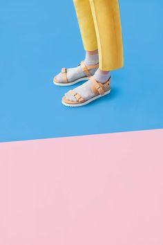 art direction | socks + sandals - Ian Lanterman conceptual still life photography