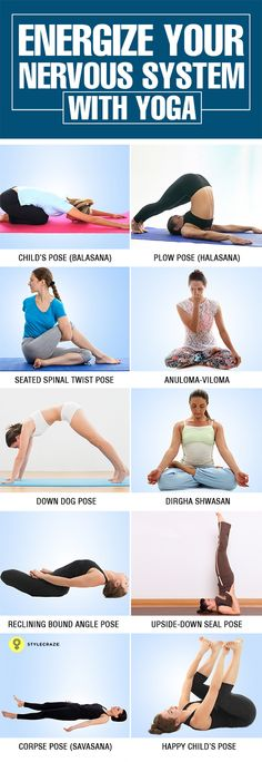 10 Best Yoga Asanas To Stimulate Your Nervous System