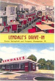 Lendale's Drive-in was a teenage hot spot in the Fifties and early Sixties.