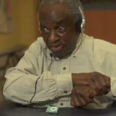 Old Man In Nursing Home Reacts To Hearing Music From His Era .. music is a real medicine