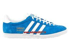 7d208d31222fea Adidas Gazelle OG - Chaussures de Originals Pas Cher Pour Homme/Femme Bleu  G16183