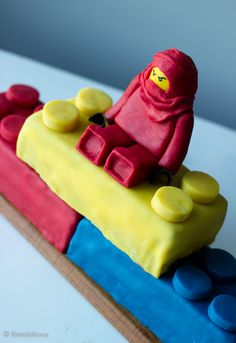 Legokakku - Kinuskikissa