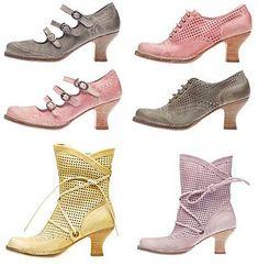 Rococo shoes